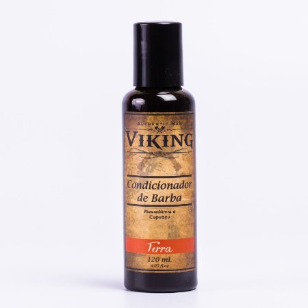 Condicionador de Barba Viking - Linha Terra - 120ml