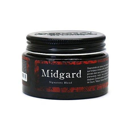 Pomada modeladora de cabelo Viking - Midgard - Efeito Seco - 90g
