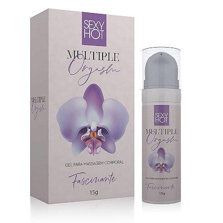 MULTIPLE ORGASM - Gel para massagem do corpo feminino