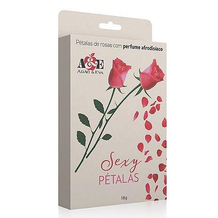 Pétalas de rosas com perfume afrodisíaco