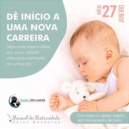 Curso Certificação Internacional em Saúde  Integrativa do Sono Infantil - ONLINE