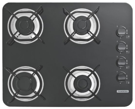 Cooktop 4 Bocas Gas Glass - Tramontina