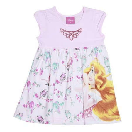 Vestido estampado - princesa Aurora - Brandili