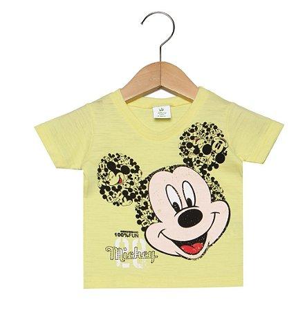 Camiseta manga Curta -  Mickey - Brandili