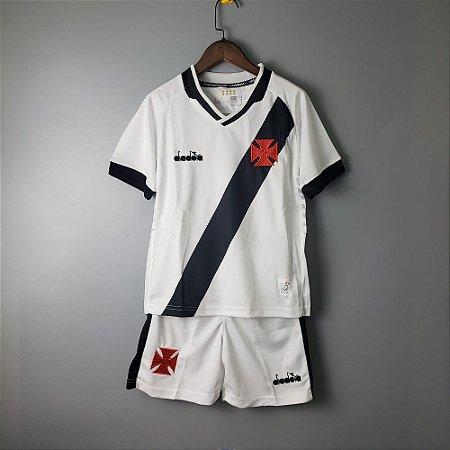 c157e6d448 Camisa do vasco da gama infantil Branca 2019 Diadora - Loja Show de ...