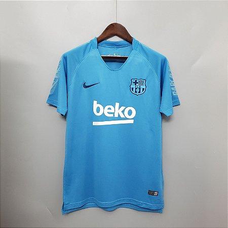 1352660968 Camisa Treino Barcelona Azul 2019 - 20 Nike - Loja Show de Bola ...