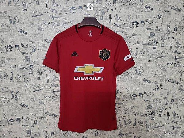 5417223180818 Camisa do Manchester United 2019 - 20 Vermelha Adidas - Loja Show de ...