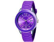 Relógio Feminino Shors 80080 Alça Silicone Roxo