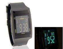 Relógio Masculino Digital Aço Inoxidável A235 Resistente a Água Preto