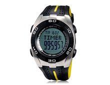 Relógio Masculino Spovan Blade V-B Esportivo Multifuncional Pulseira Borracha Preto