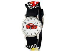 Relógio Infantil Carros Preto