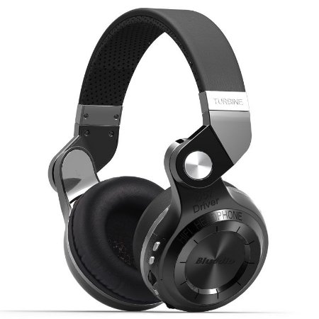 Fone de Ouvido Sem Fio Original Bluedio T2 Dobrável com Microfone Bluetooth