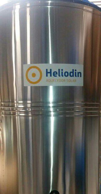 RESERVATÓRIO HELIODIN TERMICO ELÉTRICO  AÇO INOX 304 ALTA PRESSÃO 150 LITROS VERTICAL