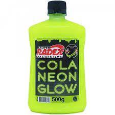 COLA GLOW SLIME AMARELO NEON 500G - RADEX