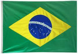 BANDEIRA BRASIL TECIDO 85X59 SEM HASTE REF.15100