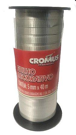 FITILHO CROMUS 5MMX40M PRATA