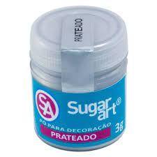 PO P/DECORACAO 3G PRATEADO - MADI