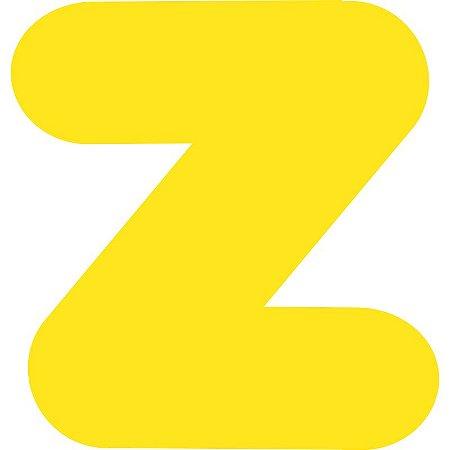 LETRA ''Z'' EM EVA AMARELA