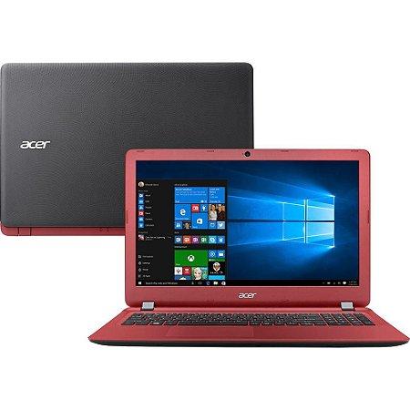 """Notebook Acer ES1-572-53GN Intel Core i5 4GB 1TB Tela 15.6"""" Windows 10 - Vermelho"""
