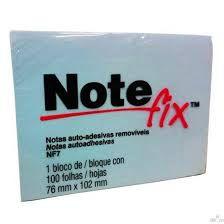 Bloco Post-it Note Fix NF7  Azul 76x102