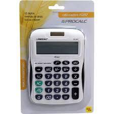 Calculadora PROCALC 12 Dígitos - PC257