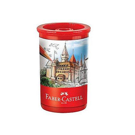 Apontador Faber Castell Tubo Planeta - C/ Depósito Unid.