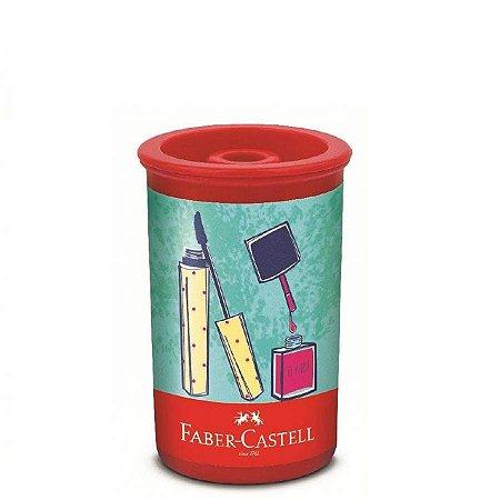 Apontador Faber Castell Tubo - It Girl C/ Depósito Unid.