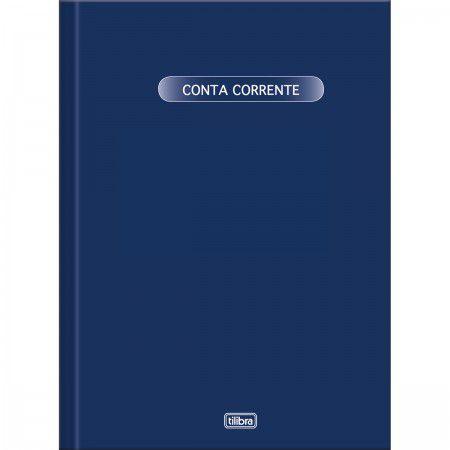 LIVRO CONTA CORENTE 1/4 WORK 50 FOLHAS PEQUENO