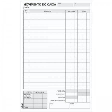 LIVRO MOVIMENTO CX 1/8 PEQ 100FLS