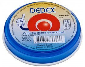 Molha Dedo Dedex 12g - Acrimet Unid.