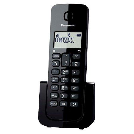 TELEFONE SEM FIO DECT 6.0 C/ID + RAMAL KXTGB112LB .