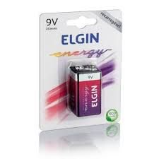 Bateria Rec.Elgin(9V)250