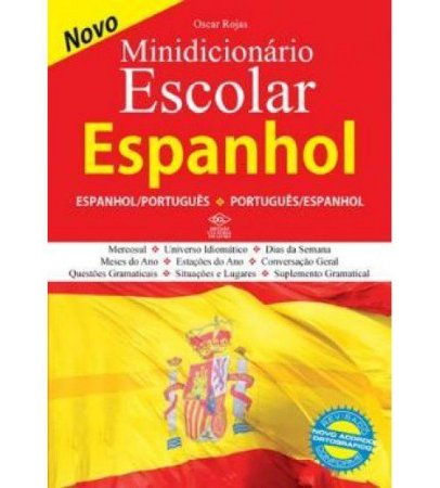 MINI DICIONARIO ESPANHOL/PORTUGUES