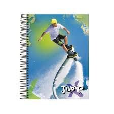 CADERNO UNIV.CD 20X1 JUMP 400 FLS