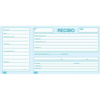 RECIBO COMUN C/ CANHOTO 100F