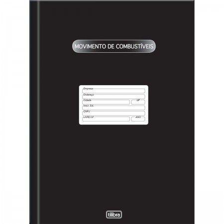 LIVRO MOVIMENTO DE COMBUSTIVEIS 100FLS