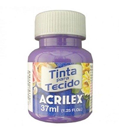 TINTA VIOLETA COBALTO P/TECIDO ACRILEX  POTE 37ML