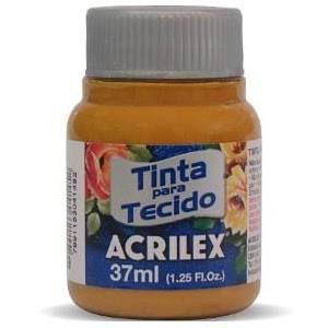 TINTA SIENA NATURAL/FUME P/TECIDO ACRILEX  POTE 37ML