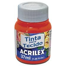 TINTA VERMELHO NATAL  P/TECIDO ACRILEX POTE 37ML