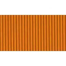 Papel Micro-Ondulado (50X80Cm) Laranja