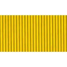 Papel Micro-Ondulado (50X80Cm) Amarelo