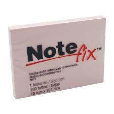 BLOCO POST-IT NOTE FIX NF7 76X102 ROSA