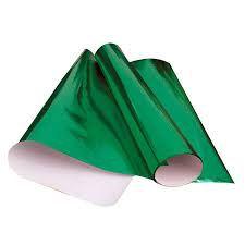 Papel Cartolina Laminado Verde Bandeira
