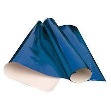 Papel Cartolina Laminado Azul Royal
