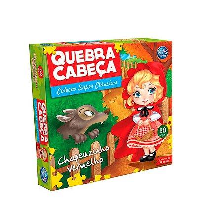 QUEBRA-CABEÇA CARTONADO CHAPEUZINHO VERMELHO  - PAIS E FILHOS