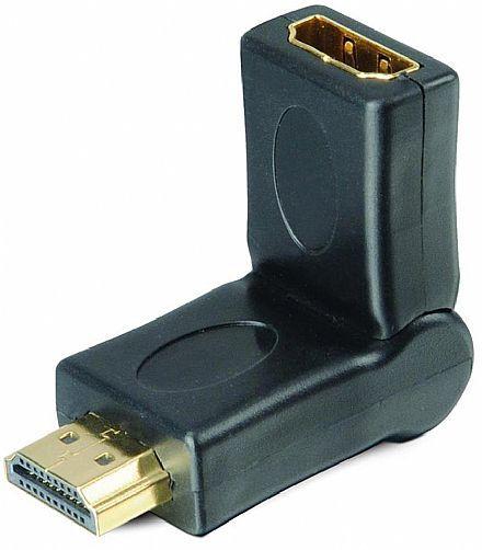 ADAPTADOR HDMI M X HDMI F GOLD 180