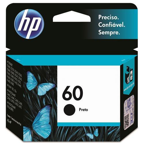 CARTUCHO HP 60 CC640WL PRETO ORIGINAL