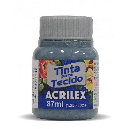TINTA P/ TECIDO ACRILEX REF: 574 CINZA LUNAR