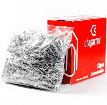CLIPS CHAPARRAU 6/0 500GR COM 220 UNIDADES