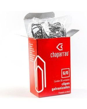 CLIPS CHAPARRAU 6/0 50 UNID. GALVANIZADO